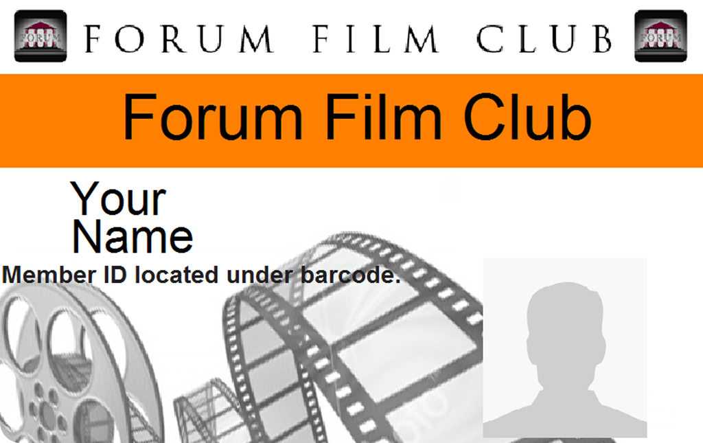 Forum Film Club membership card